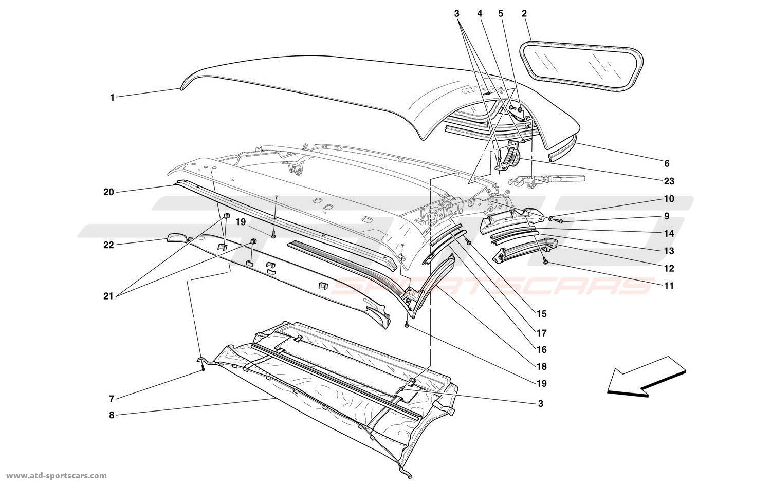 CHASSIS - GASKETS - MOULDINGS