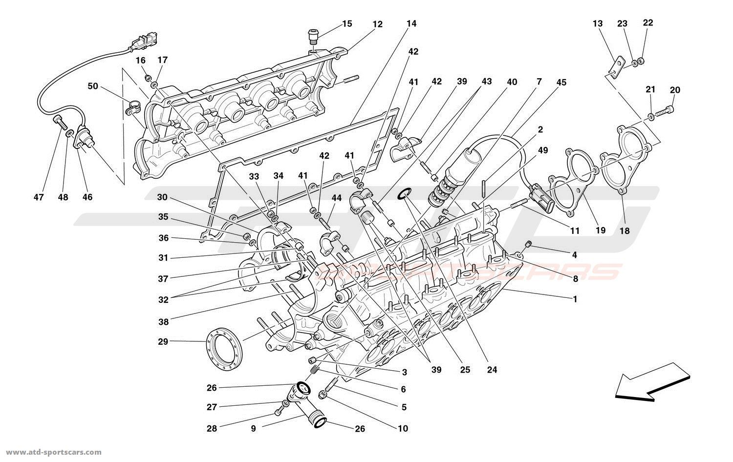 Ferrari 360 Engine Diagram Electrical Wiring Diagrams Spider Parts At Atd Sportscars Yellow Modena