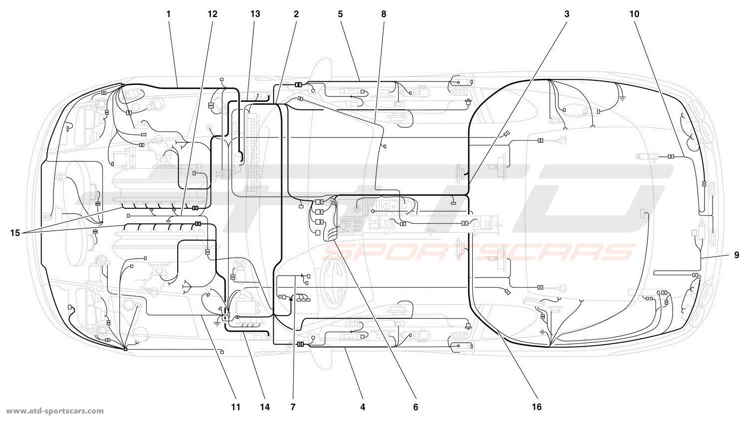 ELECTRICAL SYSTEM -Not for 456 GTA-