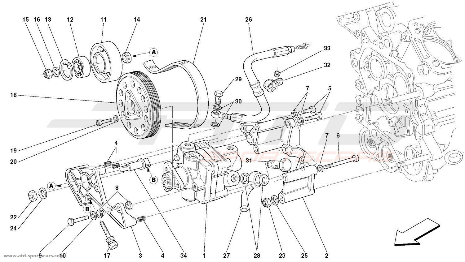 HYDRAULIC STEERING PUMPS