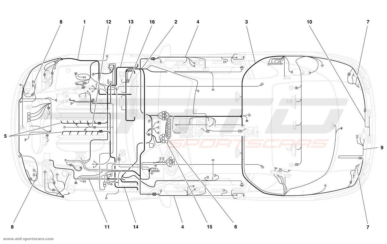 Ferrari 456 Gt Wiring Diagrams 308 Diagram M Gta Electrical Parts At Atd Sportscars