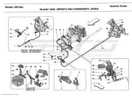 Ferrari 458 Italia AC SYSTEM-WATER