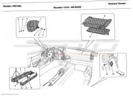 Ferrari 458 Italia AIR-BAGS