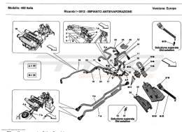 Ferrari 458 Italia ANTIEVAPORATION SYSTEM