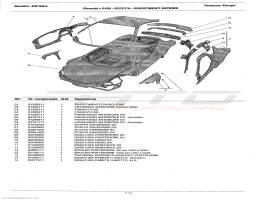 Ferrari 458 Italia BODY - OUTER TRIMS