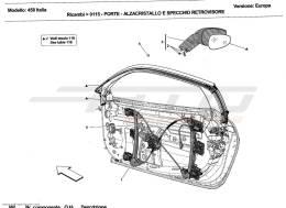 Ferrari 458 Italia DOORS - POWER WINDOW AND REARVIEW MIRROR