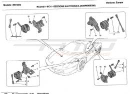 Ferrari 458 Italia ELECTRONIC CONTROL (SUSPENSION)