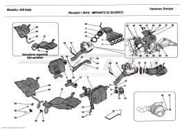 Ferrari 458 Italia EXHAUST SYSTEM