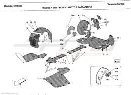 Ferrari 458 Italia FLAT FLOOR PAN AND WHEELHOUSE