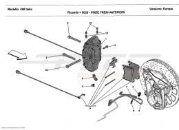 Ferrari 458 Italia FRONT BRAKE CALLIPERS