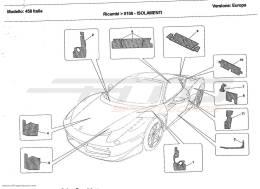 Ferrari 458 Italia INSULATIONS