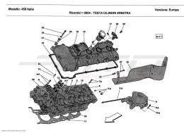 Ferrari 458 Italia L.H. CYLINDER HEAD