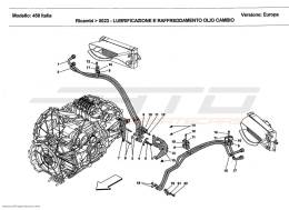 Ferrari 458 Italia LUBRICATION AND GEARBOX OIL COOLING