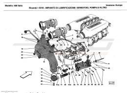 Ferrari 458 Italia LUBRICATION SYSTEM TANK, PUMP AND FILTER
