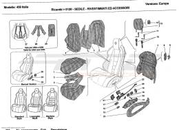 Ferrari 458 Italia SEATS - UPHOLSTERY AND ACCESSORIES