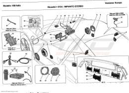 Ferrari 458 Italia STEREO EQUIPMENT
