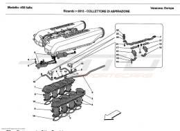 Ferrari 458 Italia SUCTION MANIFOLD
