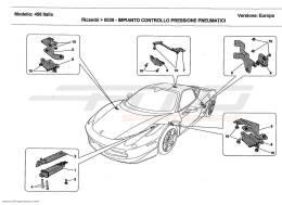 Ferrari 458 Italia TYRES PRESSURE MONITORING SYSTEM