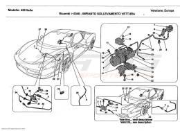 Ferrari 458 Italia VEHICLE LIFT SYSTEM