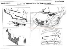 Ferrari 458 Italia WINDSCREEN WIPER, WINDSCREEN WASHER AND HORNS