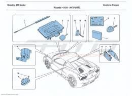 Ferrari 458 Spider ANTITHEFT SYSTEM