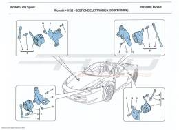 Ferrari 458 Spider ELECTRONIC MANAGEMENT (SUSPENSION)