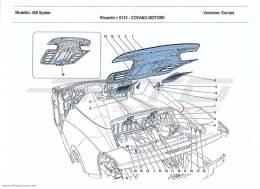 Ferrari 458 Spider ENGINE COMPARTMENT LID
