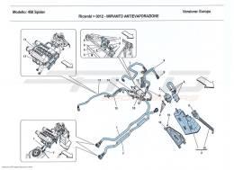 Ferrari 458 Spider EVAPORATIVE EMISSIONS CONTROL SYSTEM
