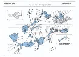 Ferrari 458 Spider EXHAUST SYSTEM