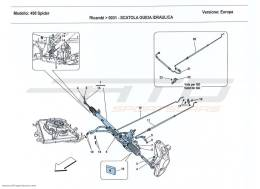 Ferrari 458 Spider HYDRAULIC POWER STEERING BOX