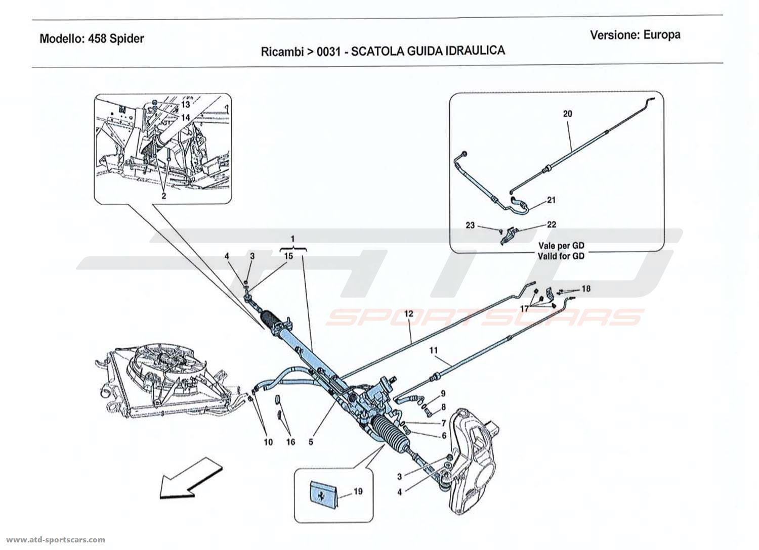 HYDRAULIC POWER STEERING BOX