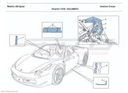 Ferrari 458 Spider INSULATION