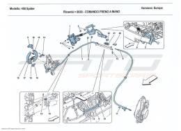 Ferrari 458 Spider PARKING BRAKE CONTROL