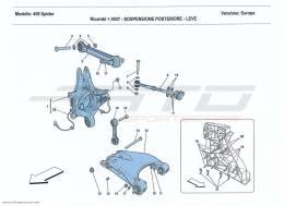 Ferrari 458 Spider REAR SUSPENSION - ARMS