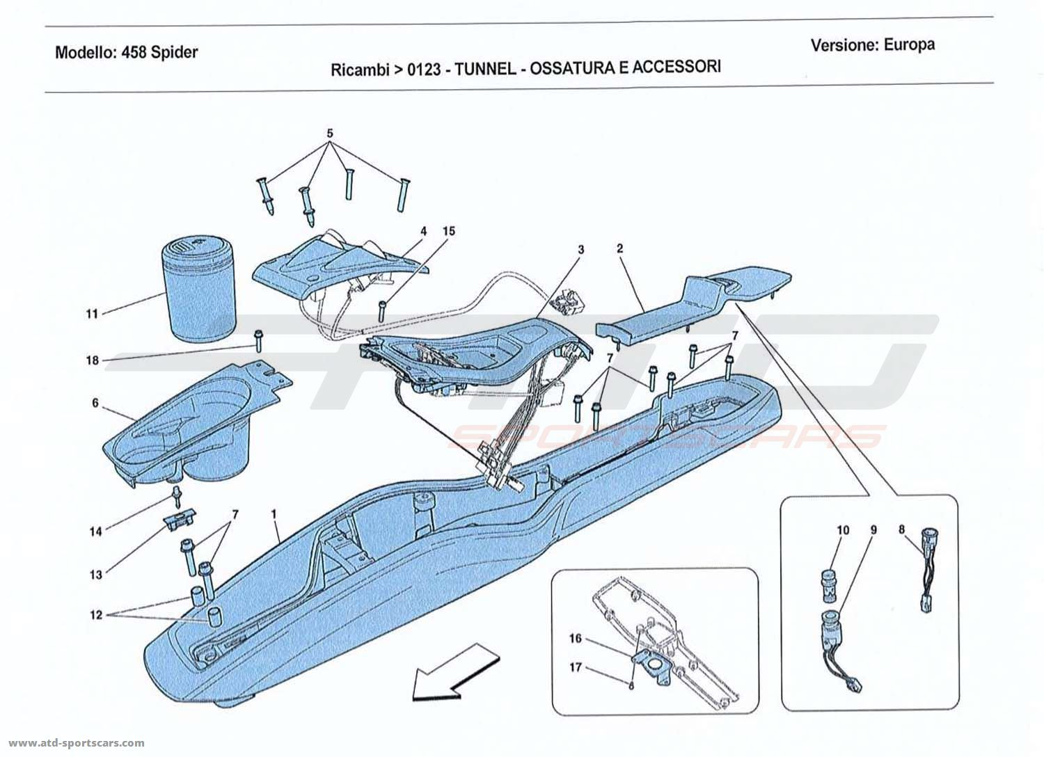 TUNNEL - SUBSTRUCTURE AND ACCESSORIES