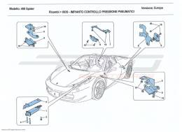 Ferrari 458 Spider TYRE PRESSURE MONITORING SYSTEM