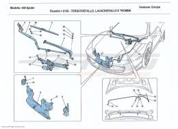 Ferrari 458 Spider WINDSCREEN WIPER, WINDSCREEN WASHER AND HORNS