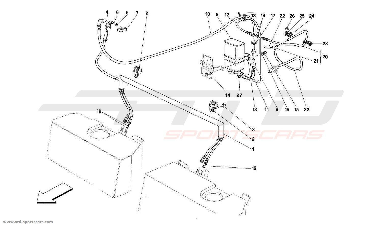 Ferrari 512M ANTI-EVAPORATIVE EMISSION CONTROL SYSTEM
