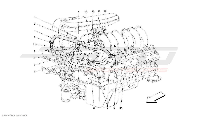 Ferrari 512M BLOW-BY
