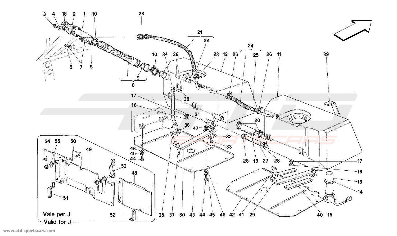 Ferrari 512M FUEL TANKS