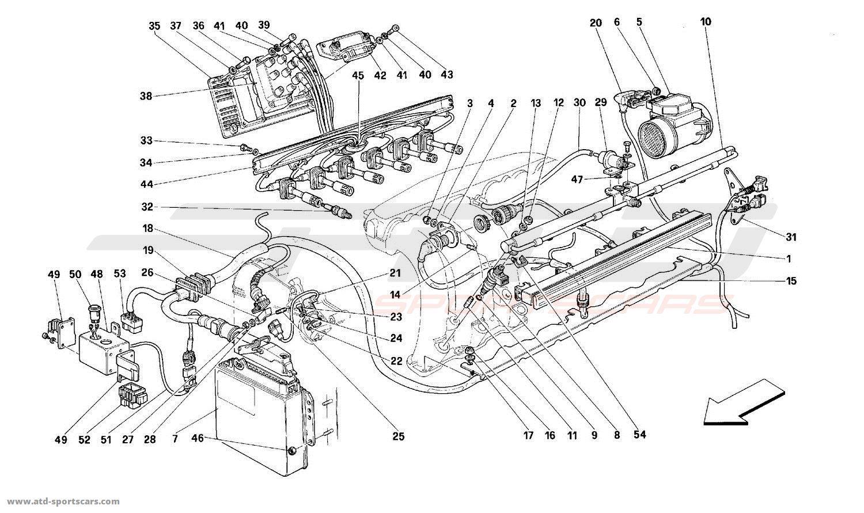 Ferrari 512TR AIR INJECTION - IGNITION