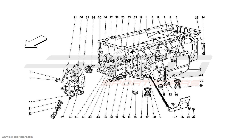 Ferrari 512TR GEARBOX
