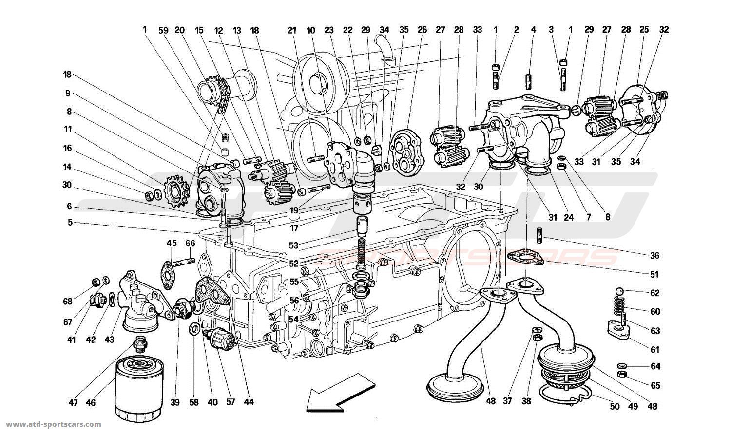 LUBRICATION - PUMPS AND OIL FILTER