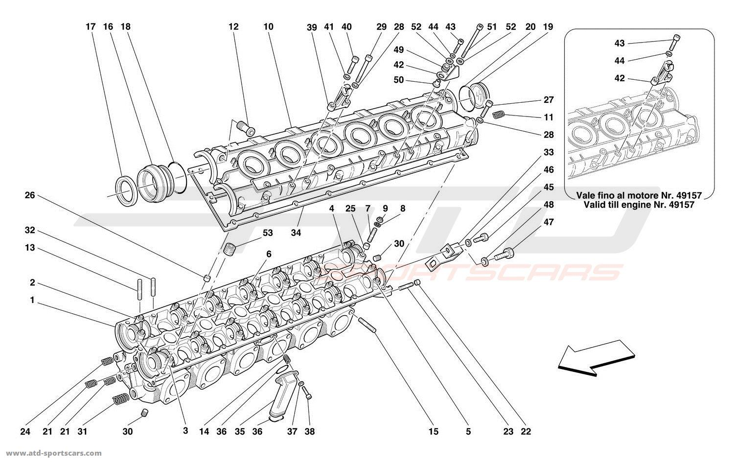 ferrari 550 parts diagram  ferrari  auto parts catalog and