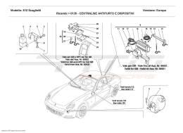 Ferrari 612 Scaglietti ANTI-THEFT ELECTRICAL BOARDS AND DEVICES
