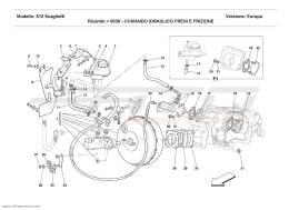 Ferrari 612 Scaglietti BRAKE AND CLUTCH HYDRAULIC SYSTEM