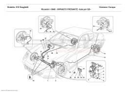 Ferrari 612 Scaglietti BRAKE SYSTEM