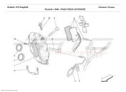 Ferrari 612 Scaglietti CALIPER FOR FRONT BRAKE
