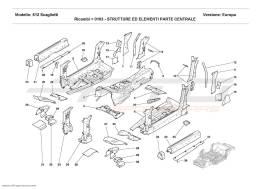 Ferrari 612 Scaglietti CENTRAL STRUCTURES AND COMPONENTS