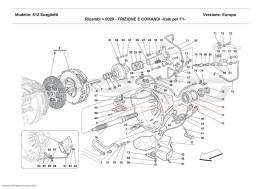 Ferrari 612 Scaglietti CLUTCH AND CONTROLS - Valid for F1 -